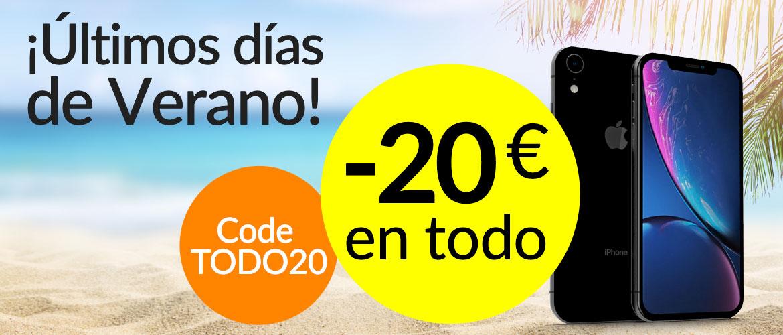 -20€ en todo ( últimos dias de verano)