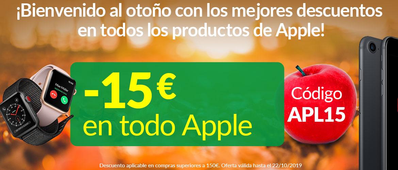 -15€ auf Apple Herbst