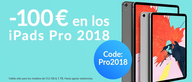 Ipads Pro 2018 -100€
