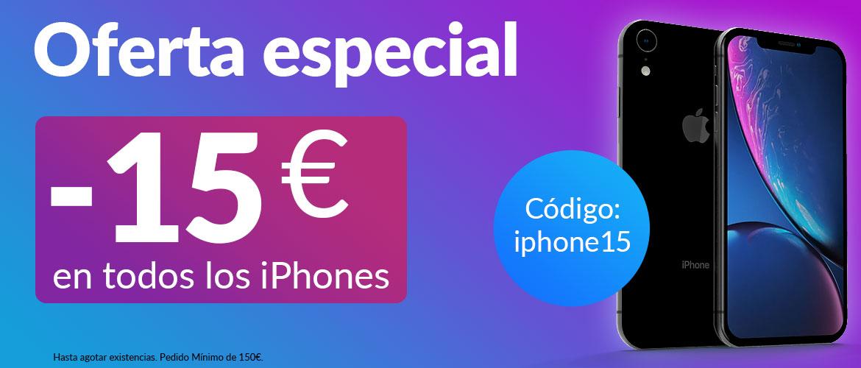 oferta iphone 15