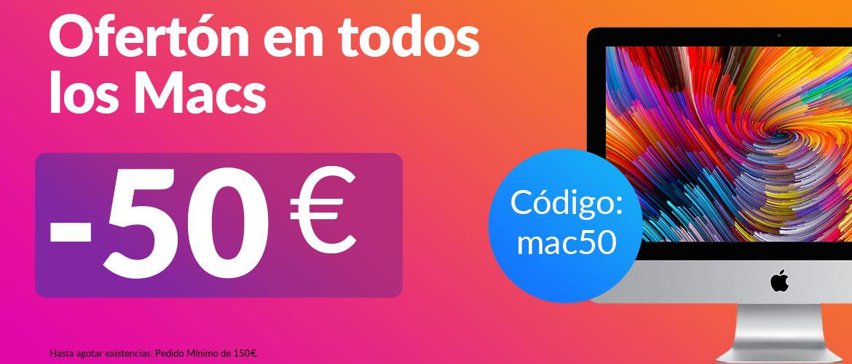 oferton 50€ en los macs