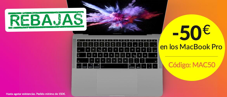 -50€ auf Macbook Pro
